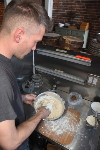 Flower + Bone – Jason Sakach making bread