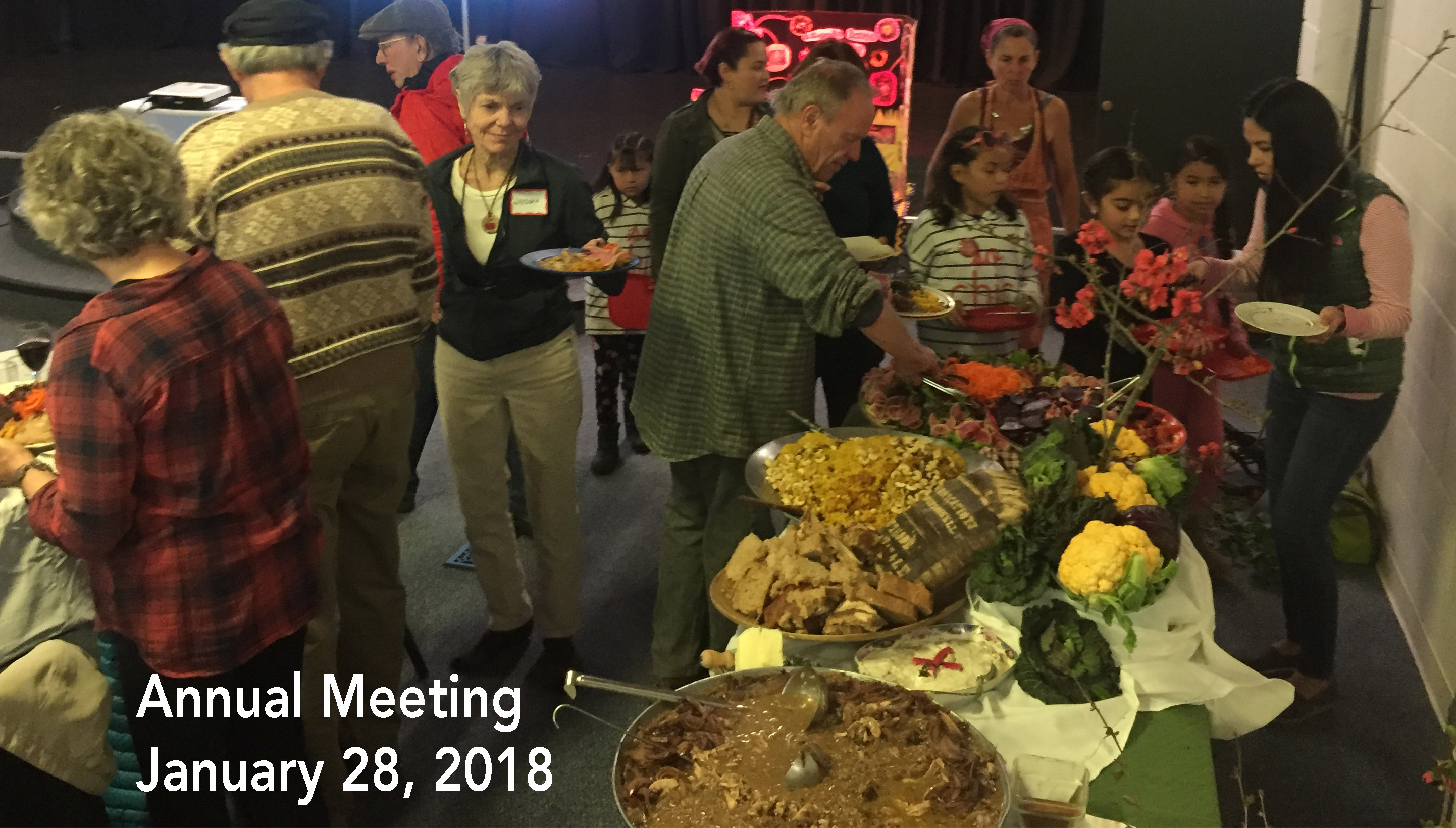 Slow Food Russian River Annual Meeting, Jnury 28. 2018