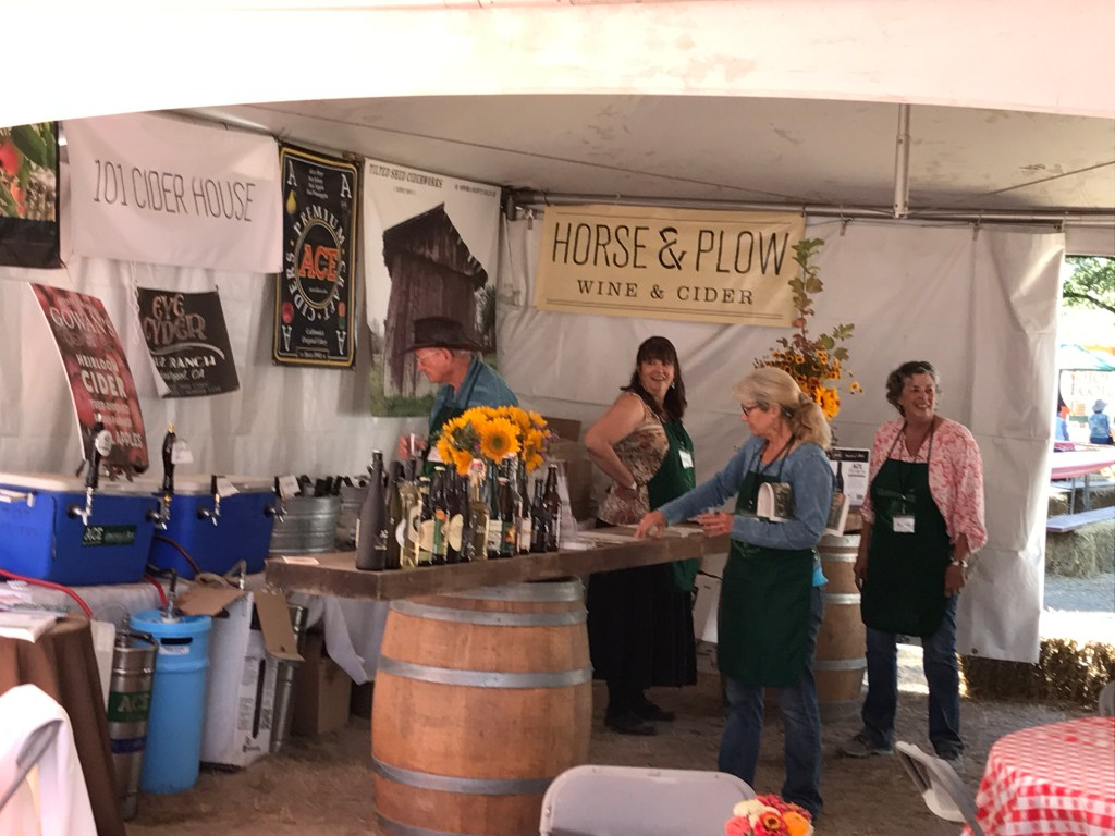 Cider Revival at the Gravenstein Apple Fair: Craft Cider Tent