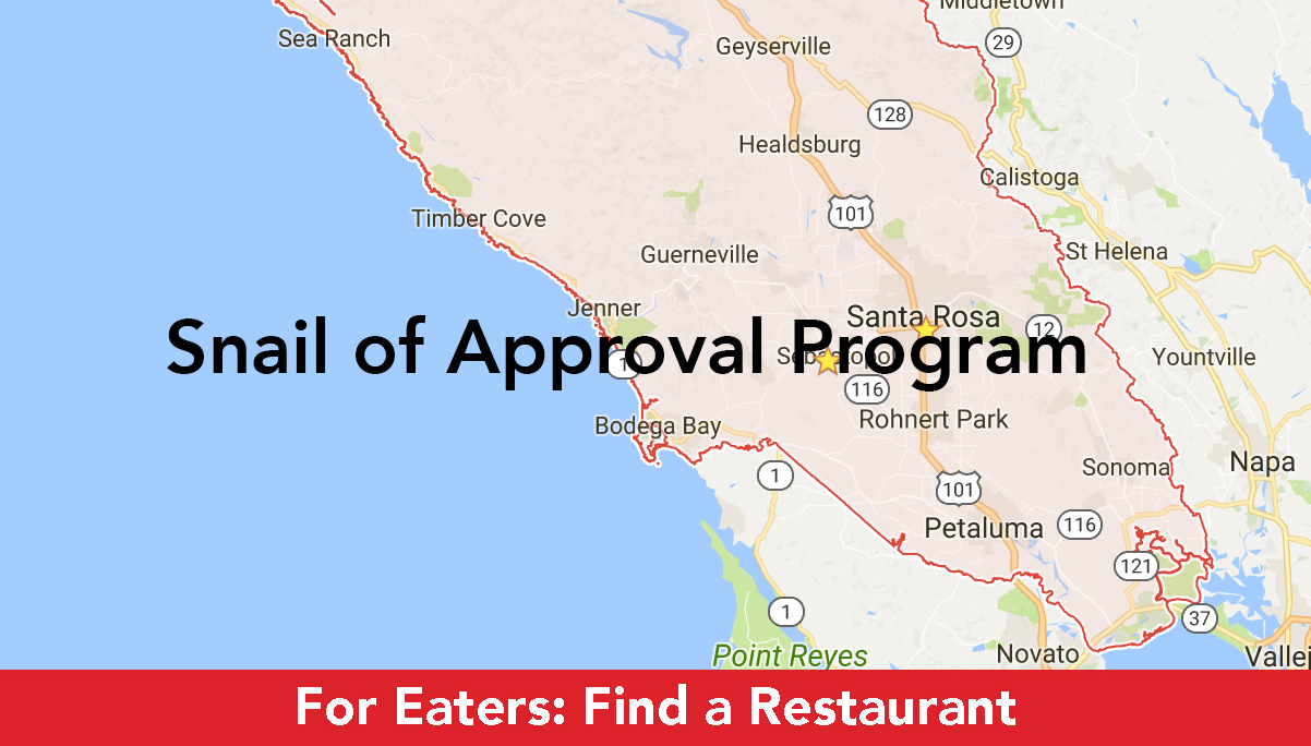 Snail of Approval Program - Slow Food in Sonoma County