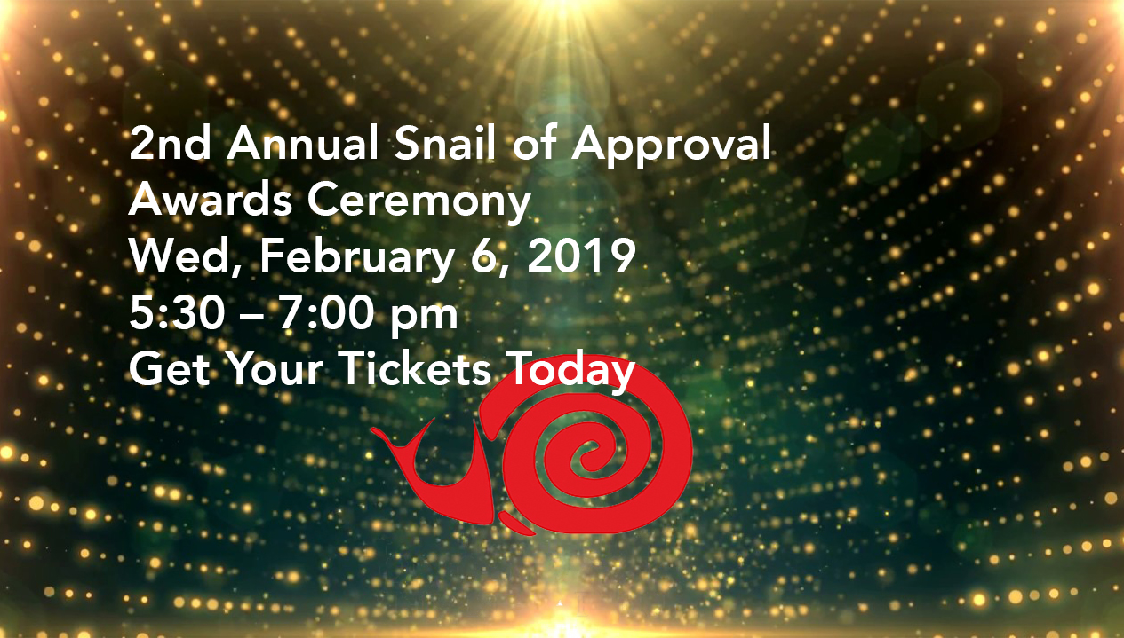 2nd Annual Snail of Approval-Slow Food in Sonoma County Awards Ceremony
