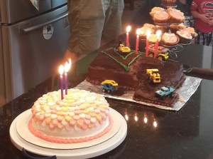 Both cakes came out nice!