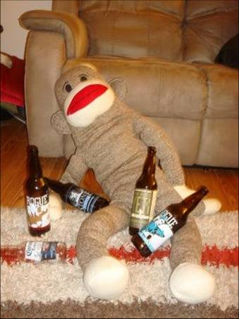 Now that's a Drunken Monkey!