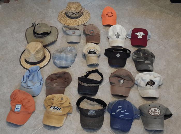 So many memories, so many hats...
