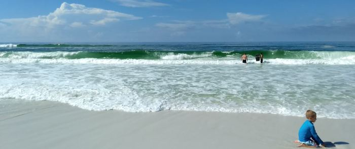 Awesome week of boogie boarding and excellent waves!