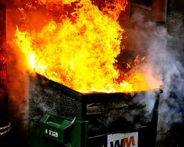Our 2017 Spending: What a Dumpster Fire!