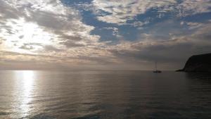 Sunrise on Puerto de Genoves.