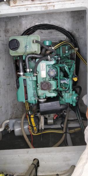 moteur tribord