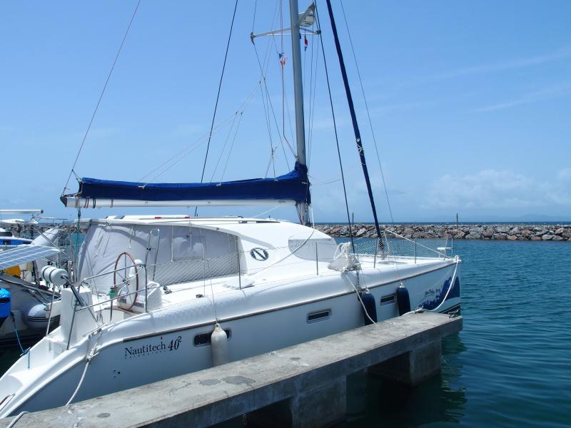 Nautitech 40.2 vue tribord