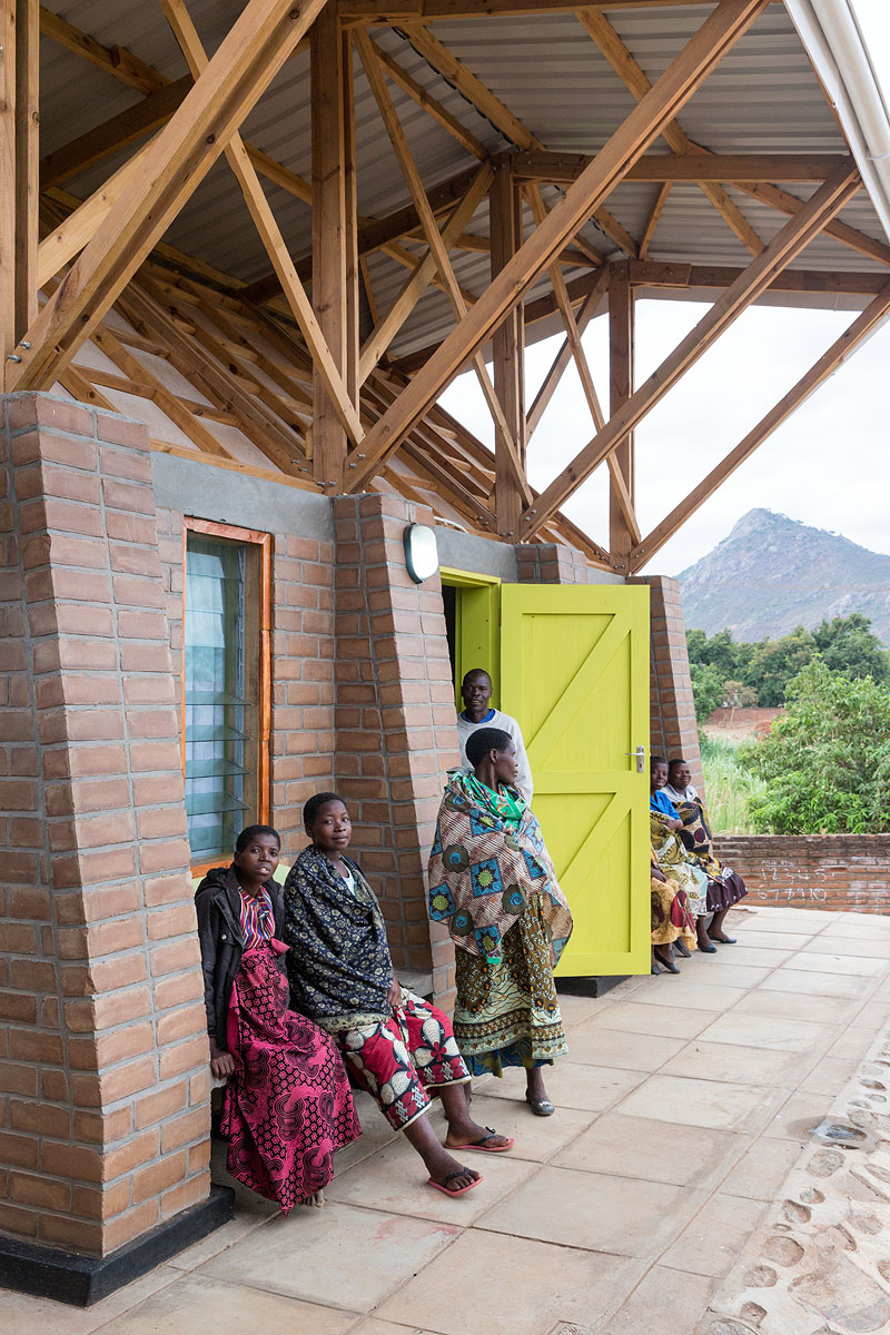 The Kasungu Maternity Waiting Village. Photo: © Iwan Baan, Courtesy of MASS Design Group