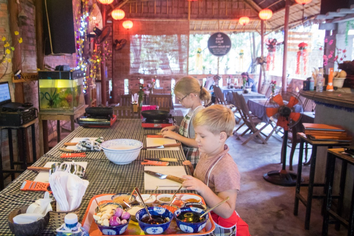 A Vietnamese Cooking Class in Hoi An