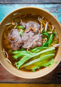 Braised beef in Chiang Mai