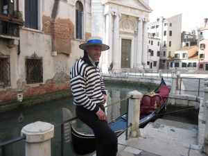 Gondolier at Rest