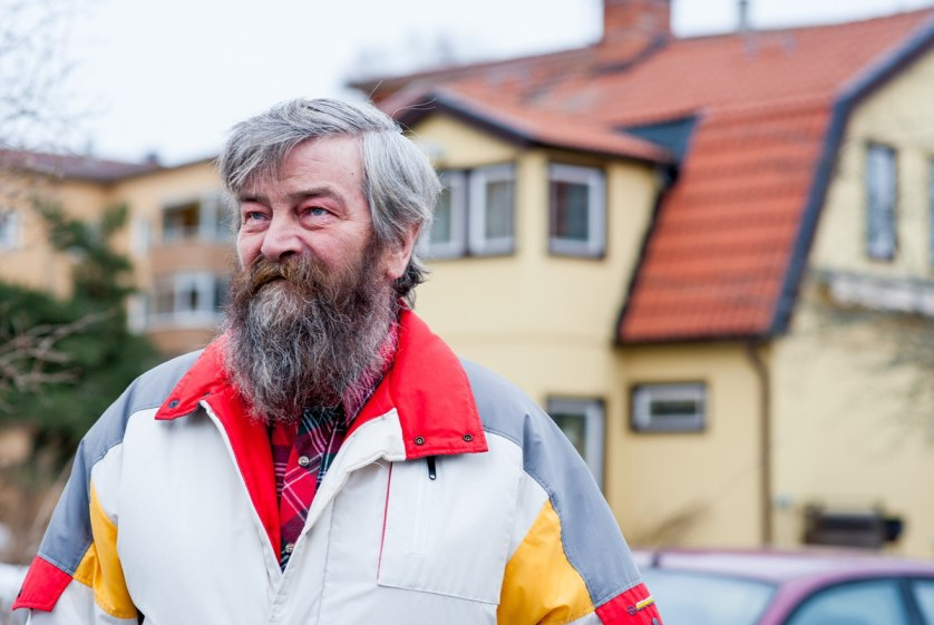 Jorma Latva, who moved from Finland during the peak of the big work migration to Sweden, as a 21-year-old in 1968.