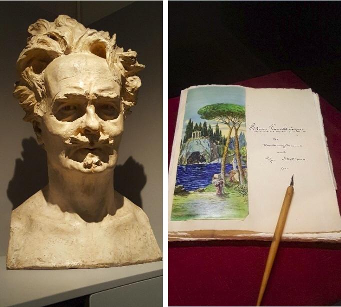 August Strindberg photo by Cas Blomberg