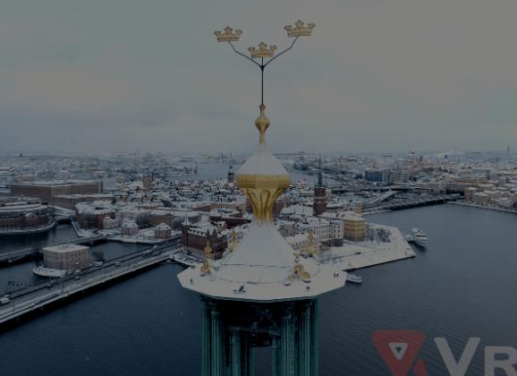 Stockholm Royalty-Free Drone Video Footage—Vreel