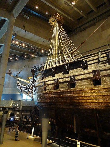 Vasa Museum ship in Stockholm