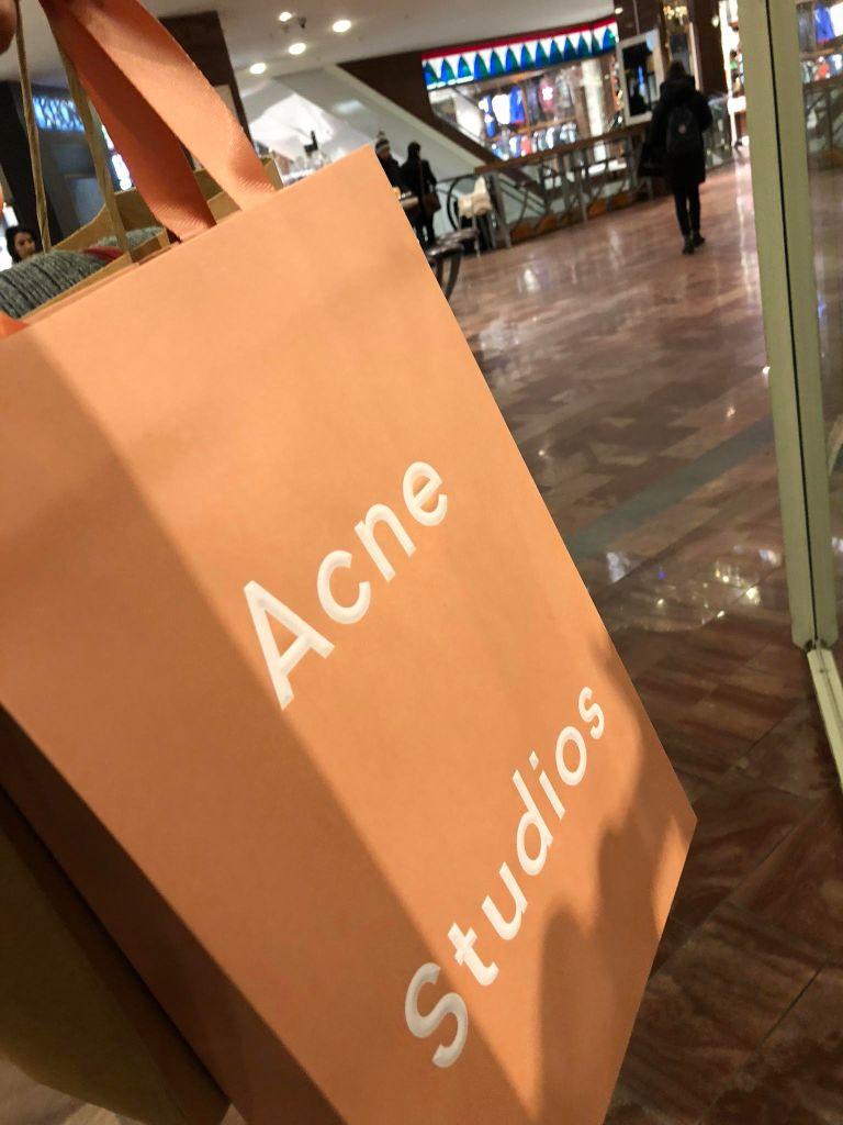Acne studios by Alaine Handa