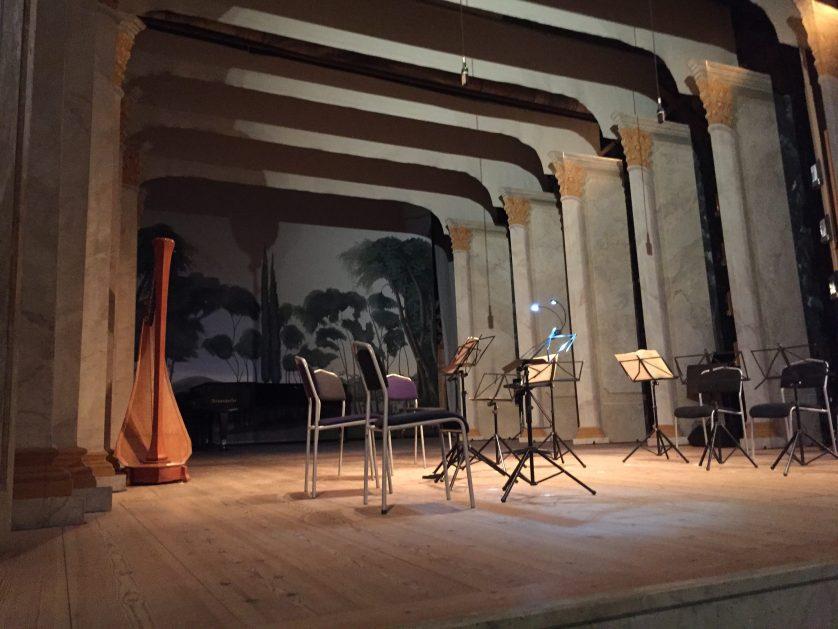Confidencen Theatre by Lisa Ferland
