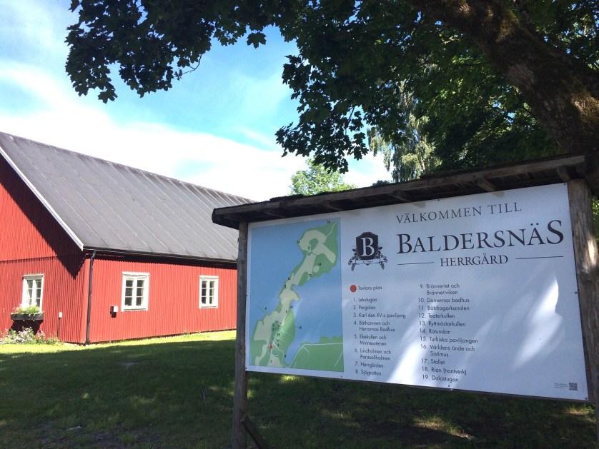 Baldersnäs Herrgård glass cabin sweden