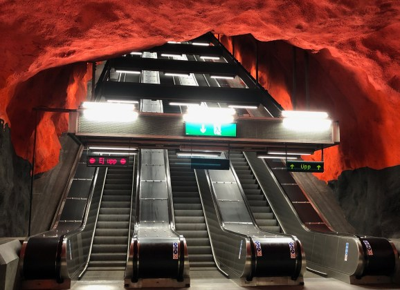 New App for Stockholm's Subway Art