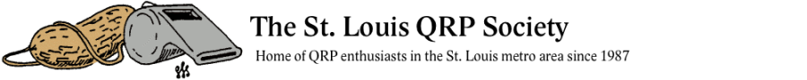 The St. Louis QRP Society - Home of QRP Enthusiasts in the St. Louis metro area since 1987