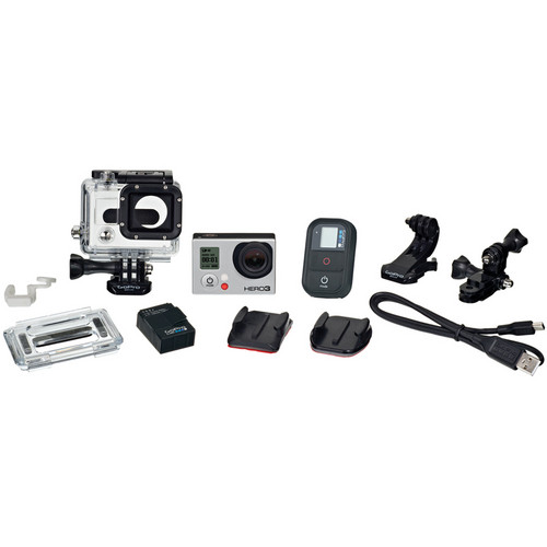 GoPro HERO3 Black Edition Shoots 4K video (15fps), 1080p