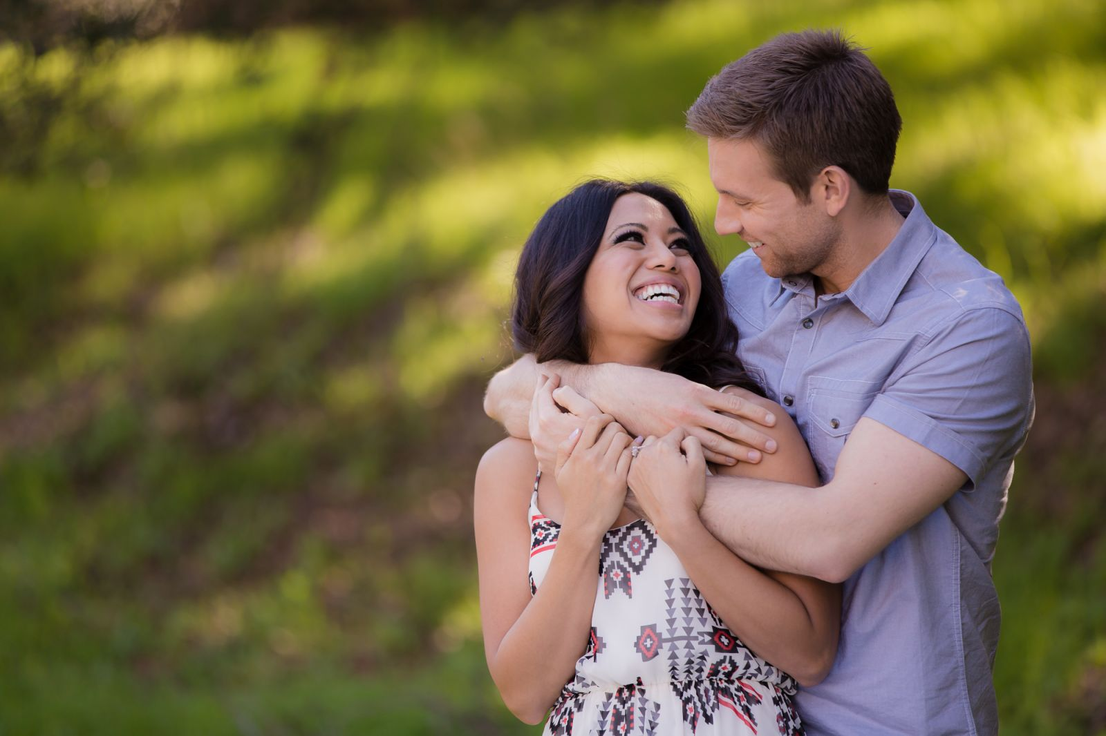 natural light couples photography