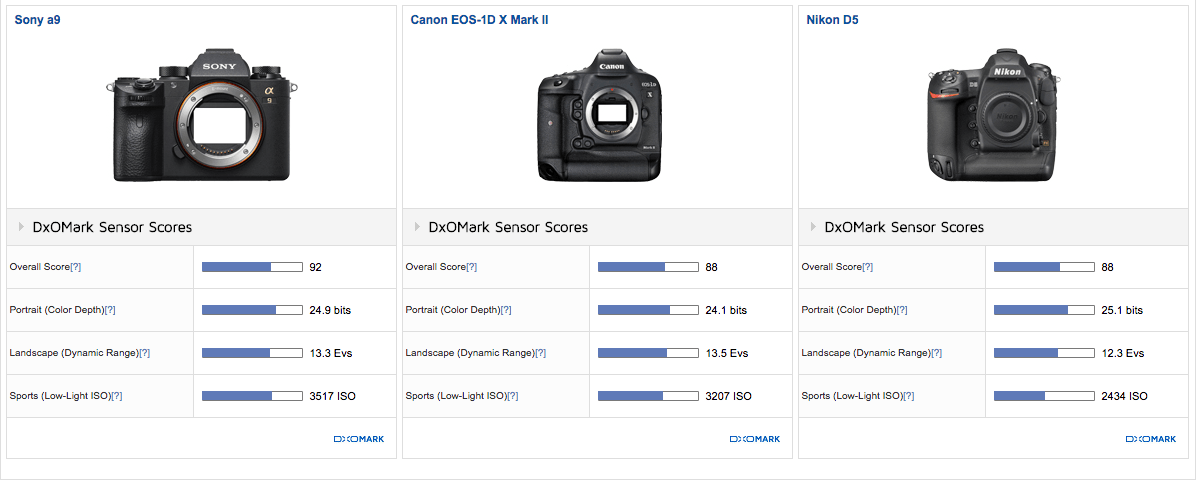 DxOMark Sony A9 Review Finally Clarifies Where The A9's