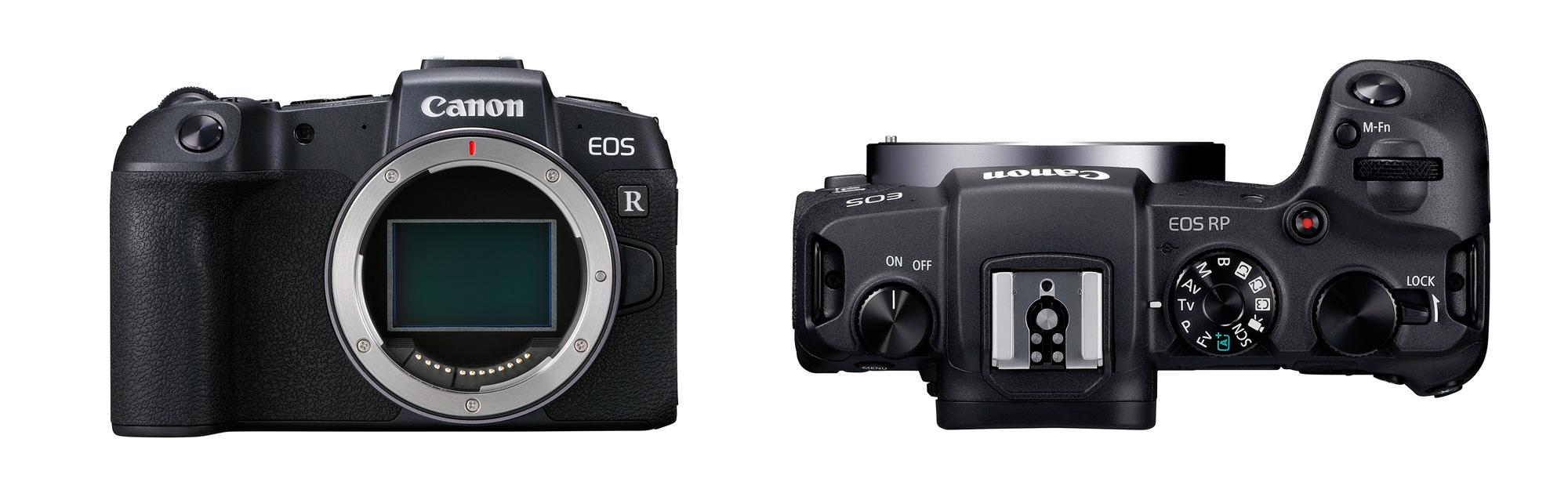 Canon Announces NEW EOS-RP Full-Frame Mirrorless Camera & 6 RF Lenses