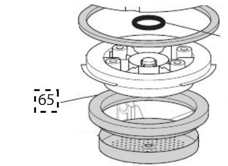 DeLonghi Coffee Maker Parts : Gasket (5313221491)