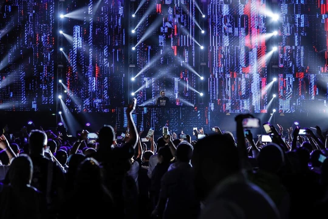 SLS takes on total AV Production for Mariah Carey & Tiesto Concert in KSA.