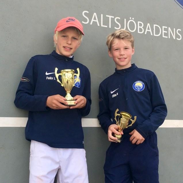 Felix Ljungström vann finalen mot Olof Borgedahl och blev mästare i klassen PS12