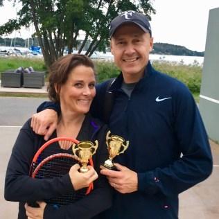 Annika Wijkström och Stig Lagerqvist 3:a i MD