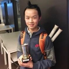 Justin Pak blev mästare i PS15.