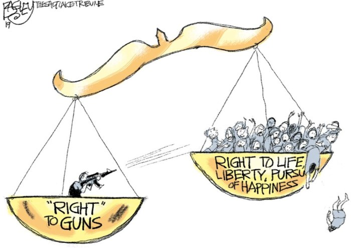 "(Pat Bagley | The Salt Lake Tribune) This cartoon, titled ""Scales of Injustice,"" appears in The Salt Lake Tribune on Wednesday, Sept. 4, 2019."