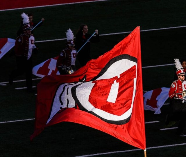 Trent Nelson The Salt Lake Tribune The Marching Utes On The Field As