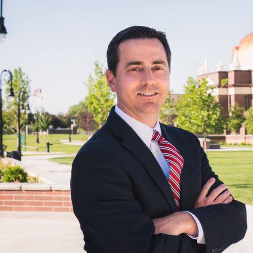 Riverton Mayor Trent Staggs