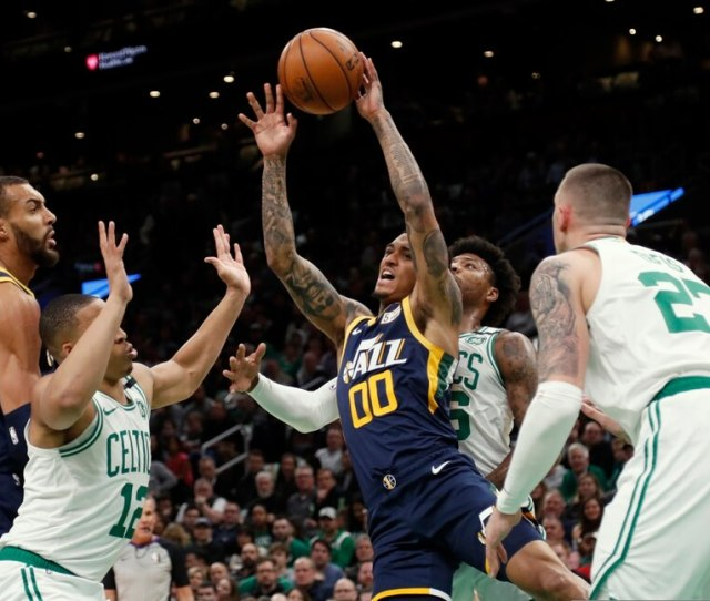 Jazz Extend Winning Streak To Four With   Victory Over Celtics