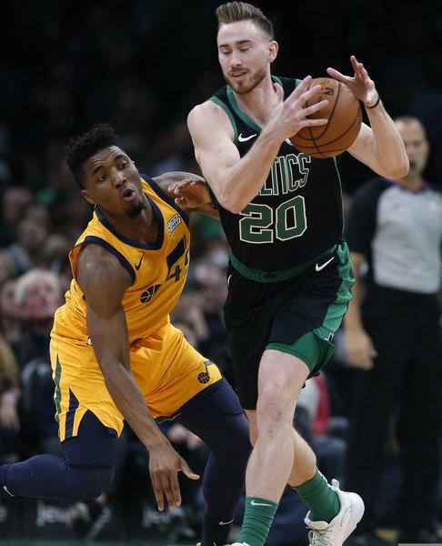Gordon Hayward off minutes restriction for Boston; Snyder not worried about Mitchell's shot attempts