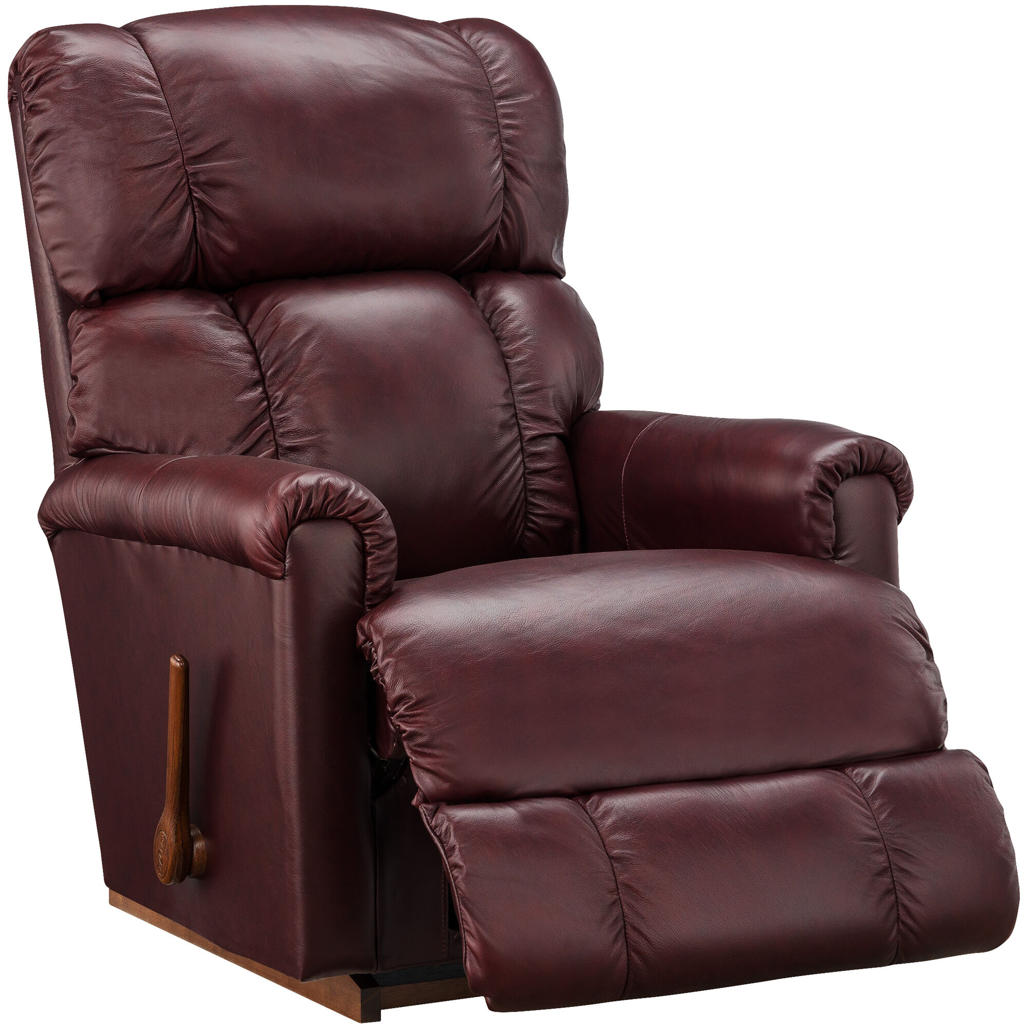 Slumberland Furniture  LaZBoy Pinnacle Merlot Rocker