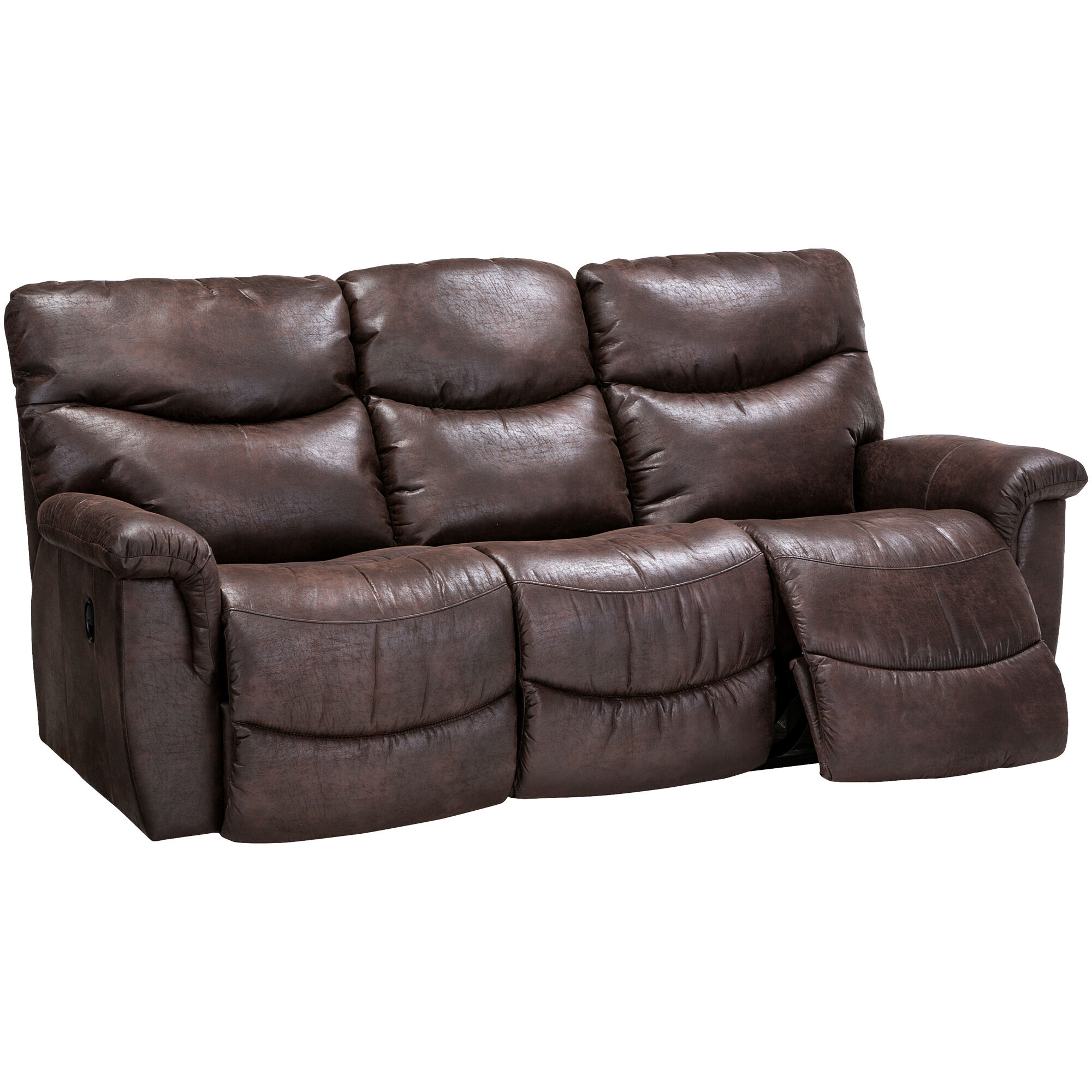 slumberland sofa recliners stickley mission style leather furniture | la-z-boy james sable