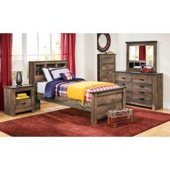Slumberland Com Sofas Sofascore Club Brugge Furniture Trinell Rustic Twin Bookcase Bed
