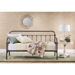 Slumberland Com Sofas Silver Metal Sofa Table Furniture   Laguna Bronze Daybed