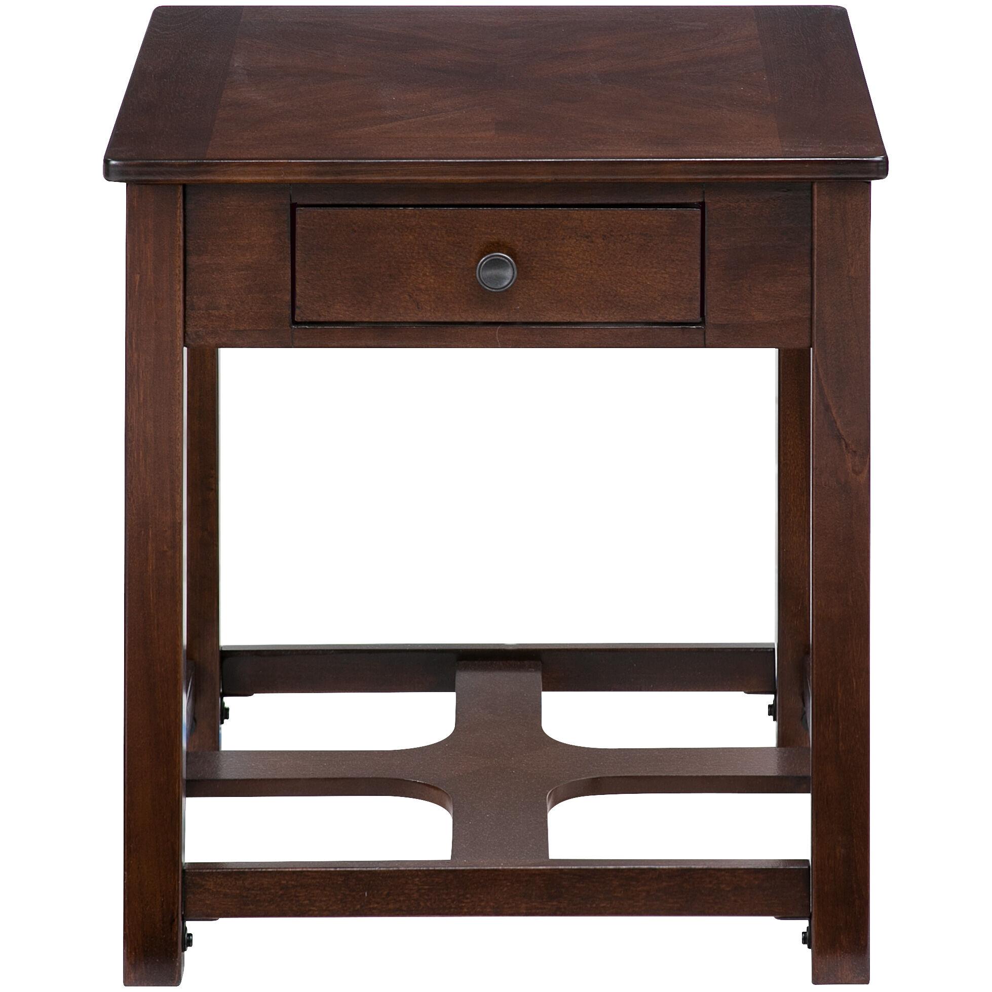 Slumberland Furniture  Marion Brown End Table