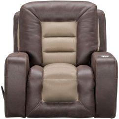 Slumberland Com Sofas Leather Sofa Repair Tape Furniture   Malone Umber Rocker Recliner