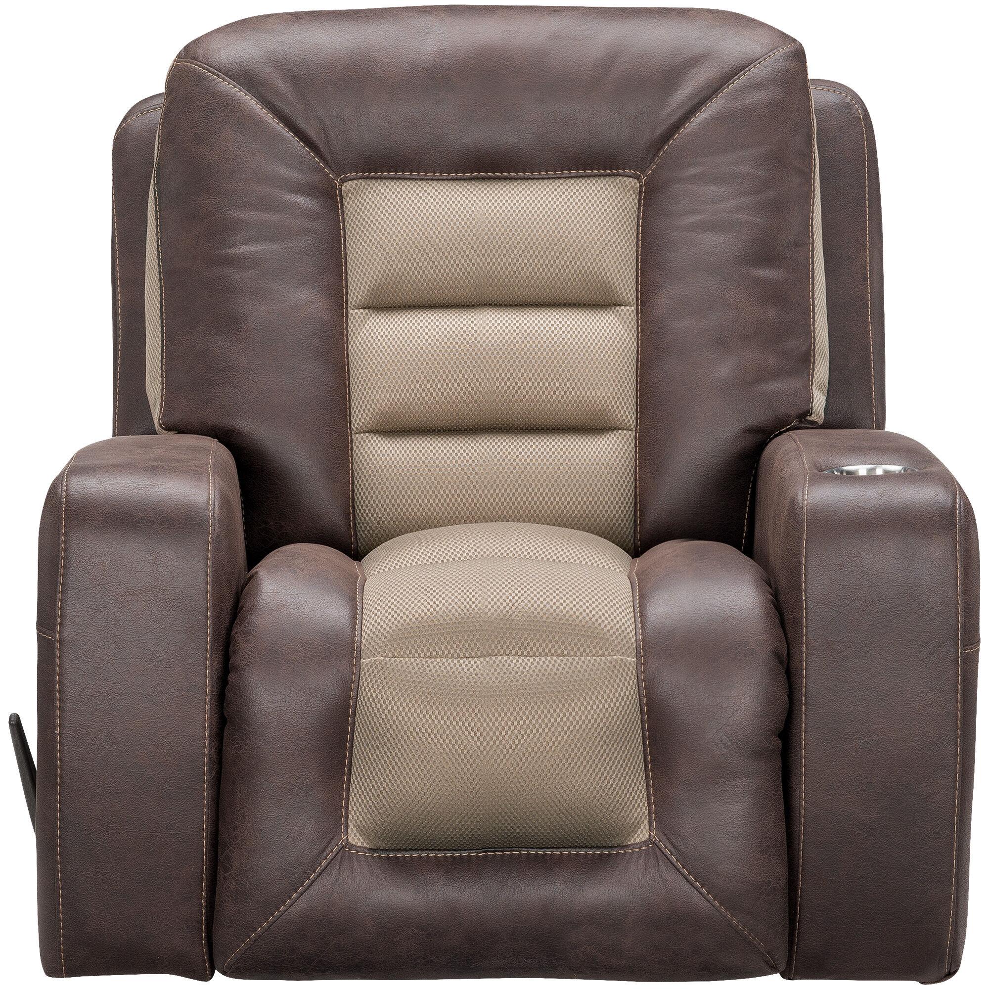 Slumberland Furniture  Malone Umber Rocker Recliner