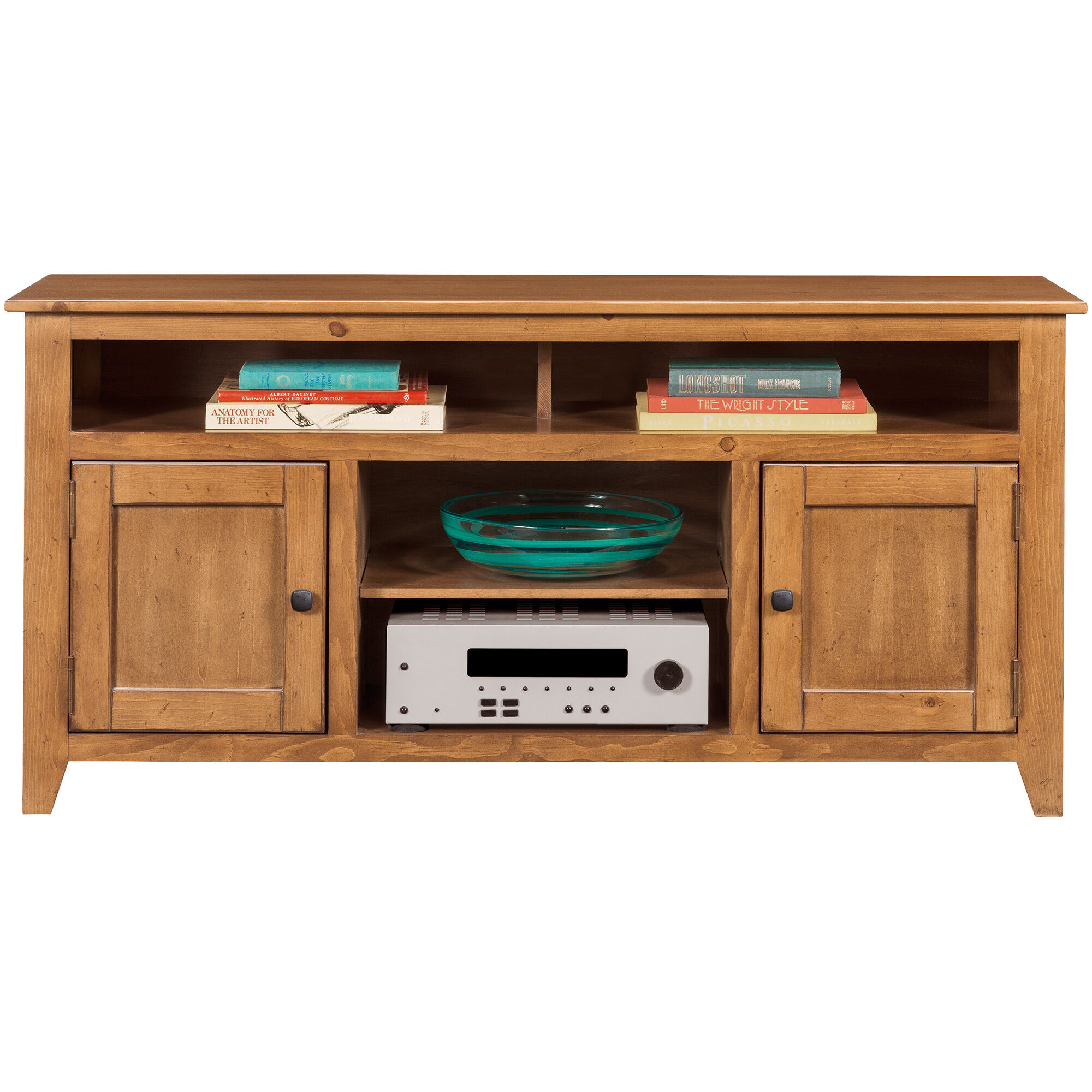 Slumberland Furniture Wrigley Pine 2 Door Console