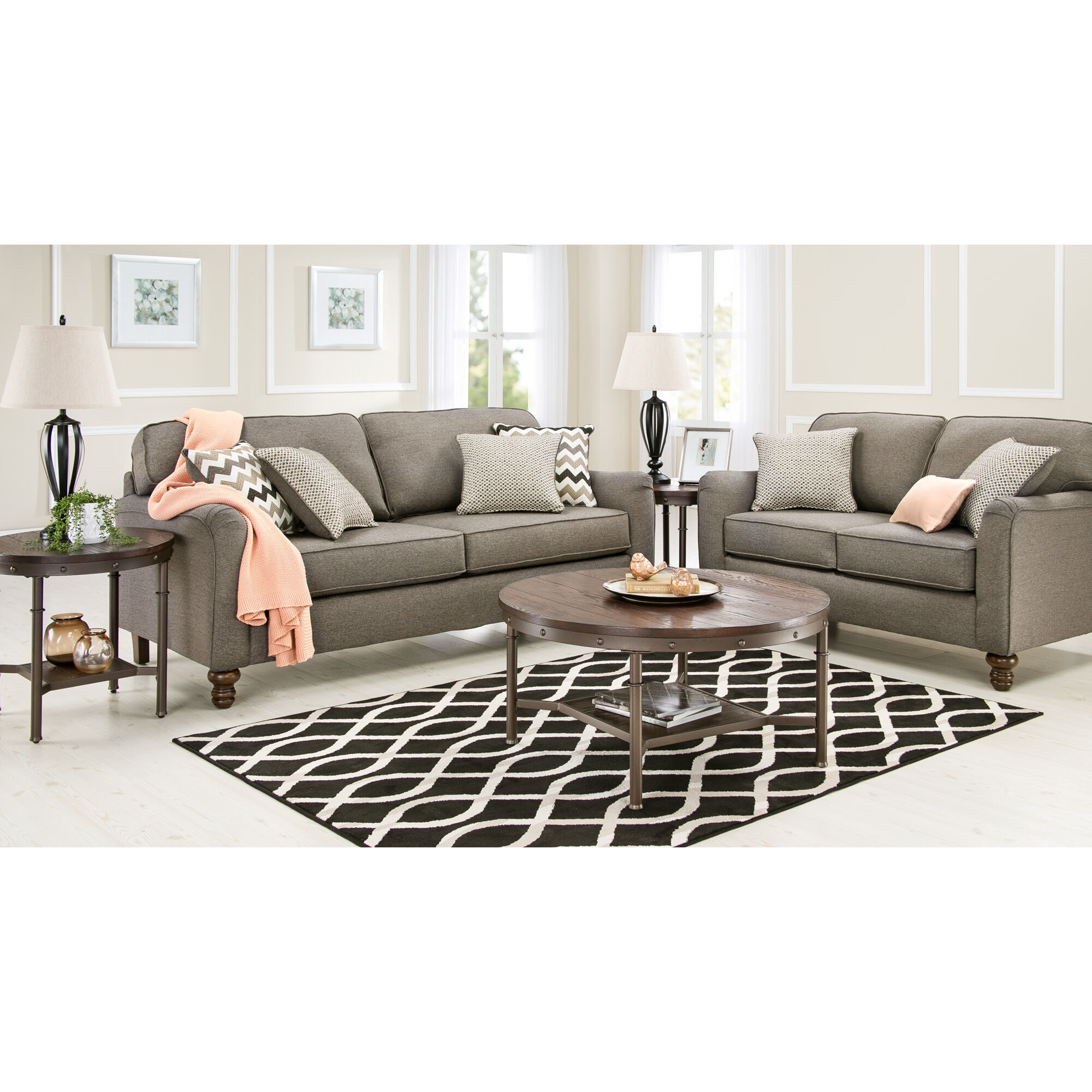 slumberland sofa recliners karlstad legs furniture | coleton ash