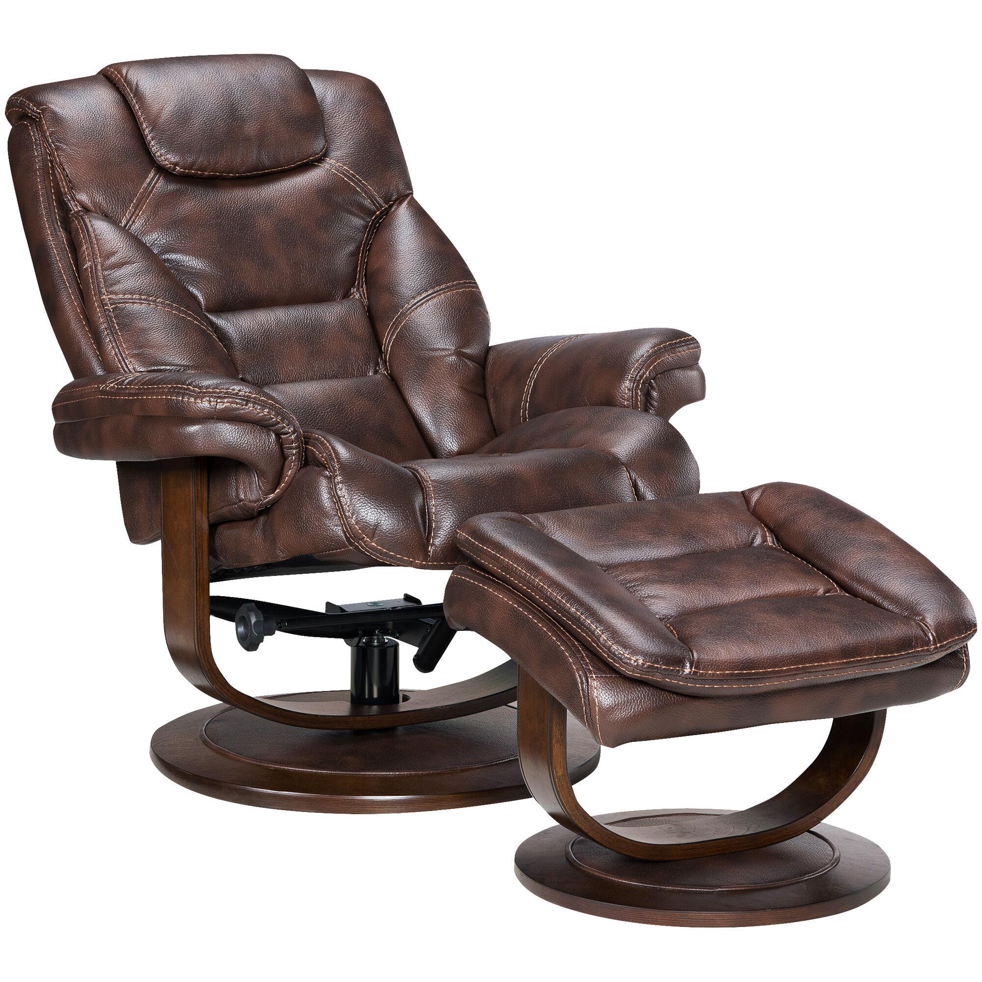 Slumberland Furniture  Apex Swivel Lounger  Ottoman